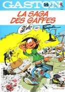Couverture La Saga des gaffes - Gaston (première série), tome 14