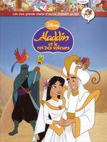 Couverture Aladdin et le Roi des voleurs - Les plus grands chefs-d'œuvre Disney en BD, tome 54