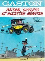 Couverture Bâtons, sifflets et sucettes géantes - Gaston (Sélection), tome 3 (hors-série)