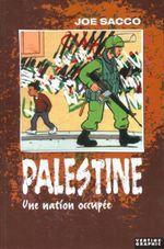 Couverture Une Nation occupée - Palestine, tome 1