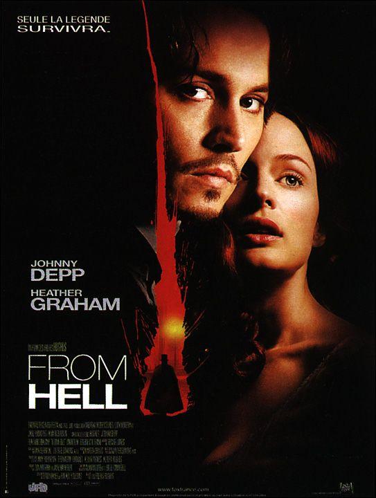 film from hell From hell en 1888, à londres, dans les rues mal famées du quartier de whitechapel, un tueur en série, surnommé jack l'eventreur, rôde d'une étonnante précision, ce mystérieux personnage éventre, la nuit tombée, des prostituées.