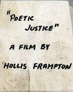 Affiche Poetic Justice : Hapax Legomena II