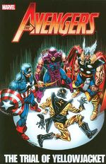 Couverture Avengers: The Trial of Yellowjacket