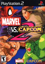Jaquette Marvel vs Capcom 2