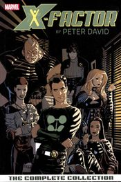 Couverture X-Factor by Peter David: The Complete Collection, Volume 1