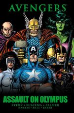 Couverture Avengers: Assault on Olympus