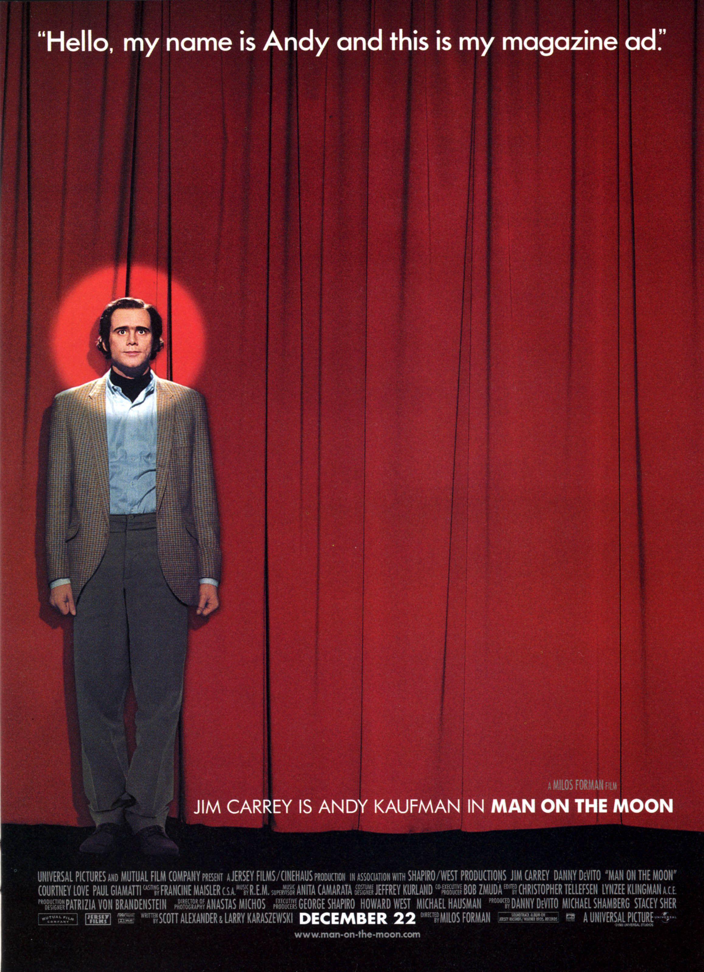 Affiches, posters et images de Man on the Moon (1999