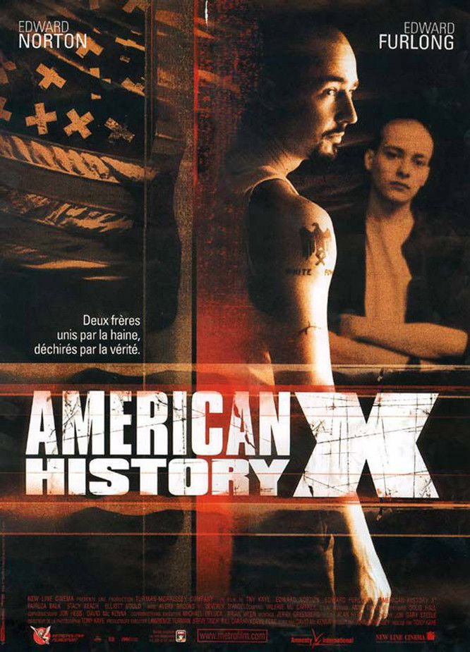 affiches posters et images de american history x 1998. Black Bedroom Furniture Sets. Home Design Ideas
