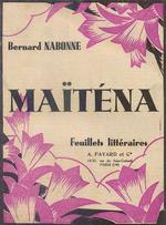 Couverture Maïténa