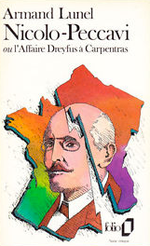 Couverture Nicolo-Peccavi ou l'Affaire Dreyfus à Carpentras