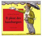 Couverture Il pleut des hamburgers