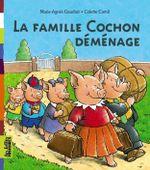 Couverture La Famille Cochon déménage