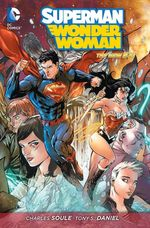 Couverture Power Couple - Superman/Wonder Woman, tome 1
