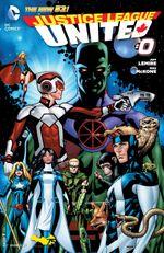 Couverture Justice League United (2014 - Present)