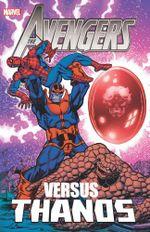 Couverture Avengers Vs. Thanos