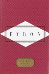 Couverture Byron: Poems