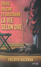 Couverture Vieux, râleur et suicidaire, la vie selon Ove