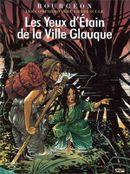 Couverture Les Yeux d'Étain de la Ville Glauque - Les compagnons du crépuscule, tome 2