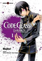 Couverture Code Geass : Lelouch of the Rebellion