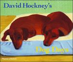 Couverture David Hockney's dog days