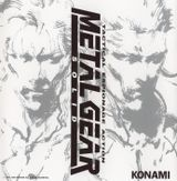 Pochette Metal Gear Solid (OST)