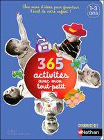 Couverture 365 activités avec mon tout-petit
