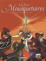 Couverture Les Trois Mousquetaires d'Alexandre Dumas, tome 2