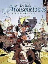 Couverture Les Trois Mousquetaires d'Alexandre Dumas, tome 3