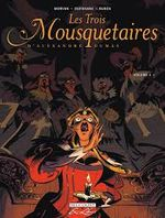 Couverture Les Trois Mousquetaires d'Alexandre Dumas, tome 4