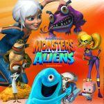 Affiche Monstres contre Aliens