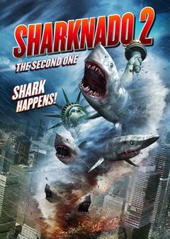 Affiche Sharknado 2 : The Second One
