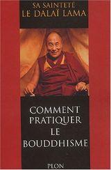 Couverture Comment pratiquer le bouddhisme