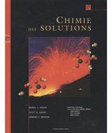 Couverture Chimie des solutions manuel