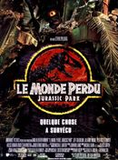 Affiche Le Monde Perdu : Jurassic Park