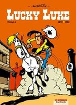 Couverture 1949 - 1952 Lucky Luke : Intégrale, tome 2