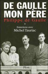 Couverture De Gaulle, mon père
