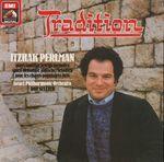Pochette Tradition: Itzhak Perlman Plays Popular Jewish Melodies