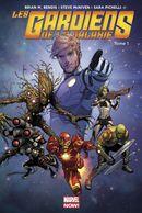Couverture Cosmic Avengers - Les Gardiens de la Galaxie (2013), tome 1
