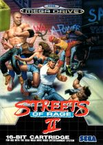 Jaquette Streets of Rage II