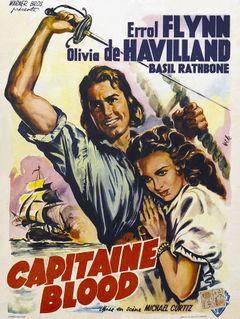 Affiche Capitaine Blood