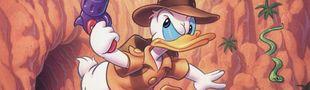 Jaquette QuackShot starring Donald Duck