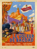 Affiche Le Voleur de Bagdad