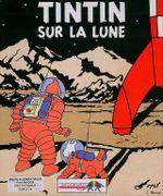 Jaquette Tintin sur la Lune