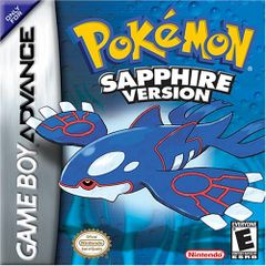 Jaquette Pokémon Saphir