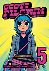 Couverture Scott Pilgrim vs. The Universe - Scott Pilgrim, tome 5