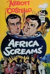 Affiche Deux nigauds en Afrique