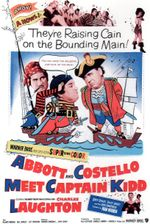 Affiche Abbott et Costello rencontrent le capitaine Kidd