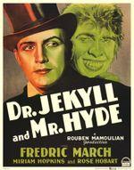 Affiche Docteur Jekyll et Mister Hyde