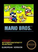 Jaquette Mario Bros.