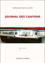 Couverture Journal des canyons